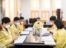 [울릉]2021년도 주요업무계획 보고회 개최